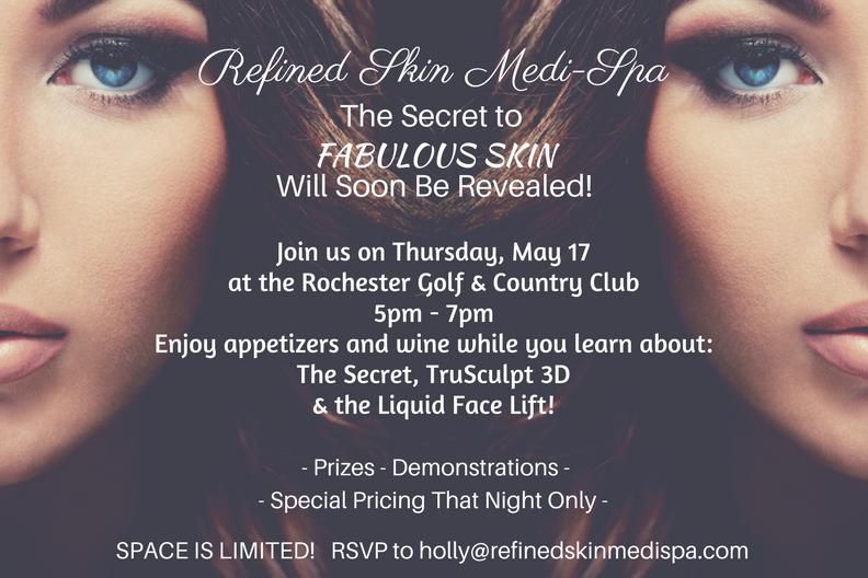 Refined Skin Medi-Spa Secret Event